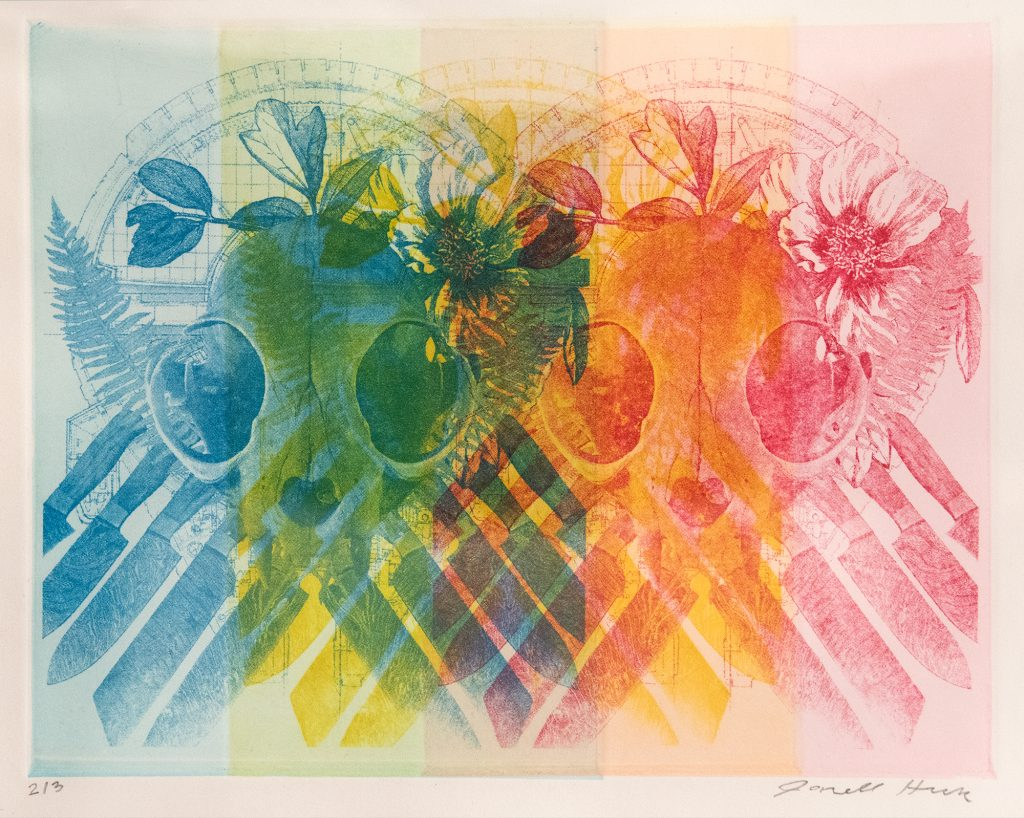 Total, Janell Heck, intaglio