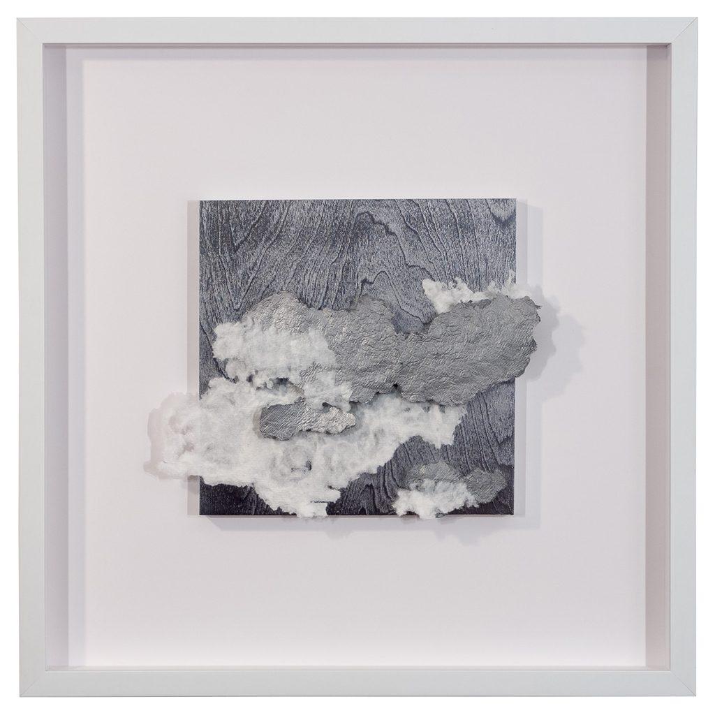 Elizabeth Jolly, Unconscious Cerebration, bamboo fibre, acrylic, 2016