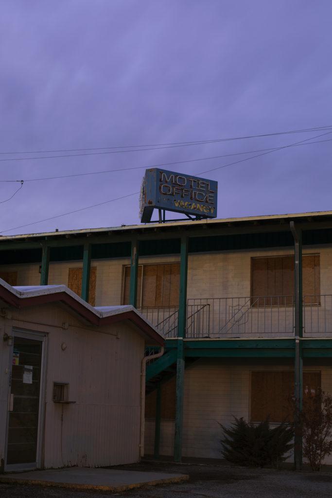 Motel - Araceli Haslam, inkjet print