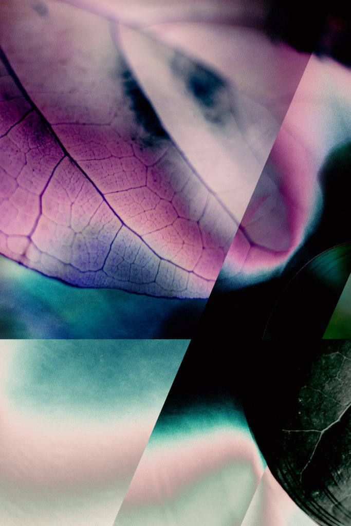 Cloak of Dark Mirrors - Brandon Woodward, digitally manipulated photograph