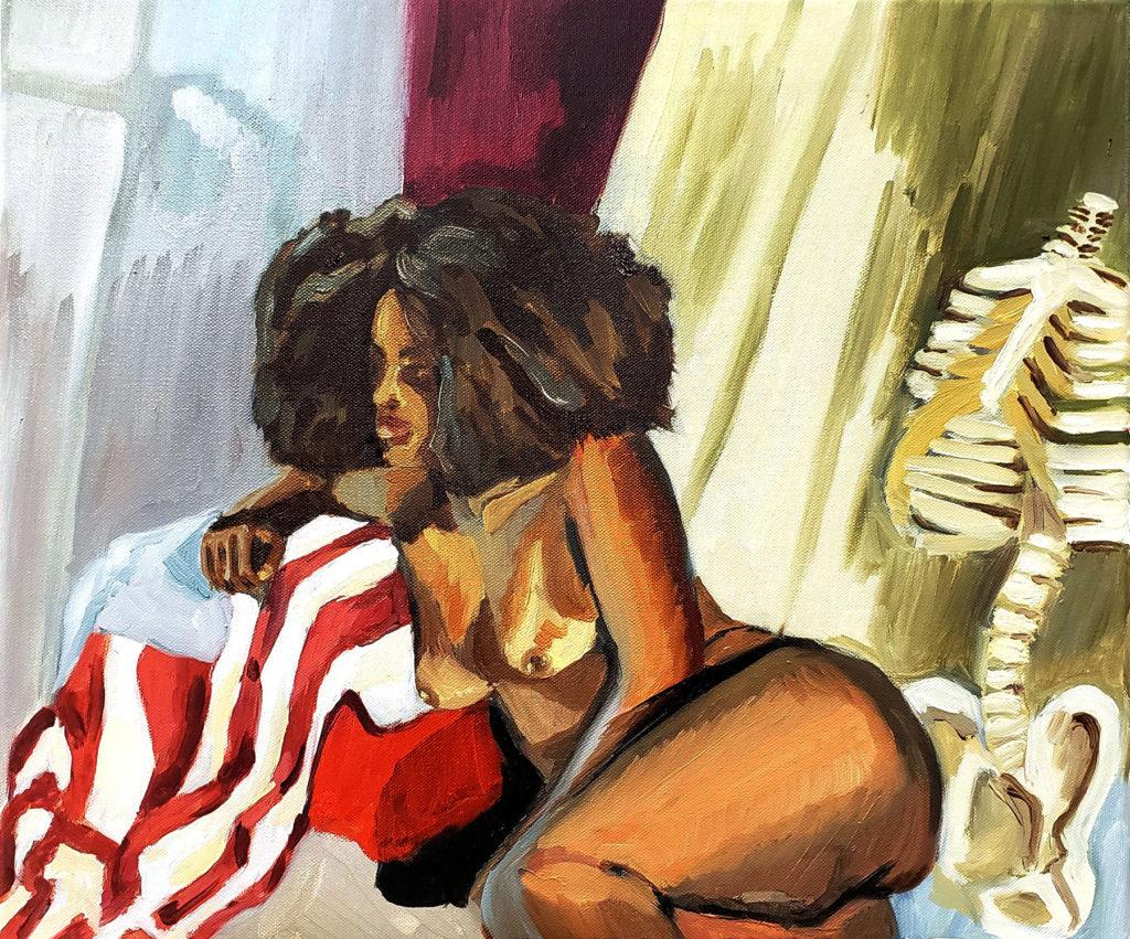 Freedom - Elizabeth Hardy, oil on canvas