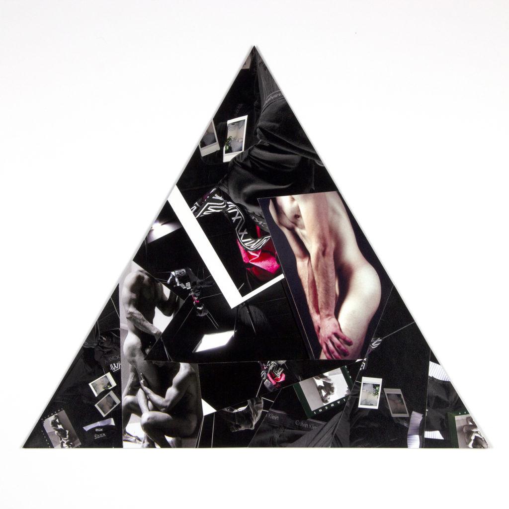 Untitled (Bianchi Boy) - Nate Francis, inkjet print collage