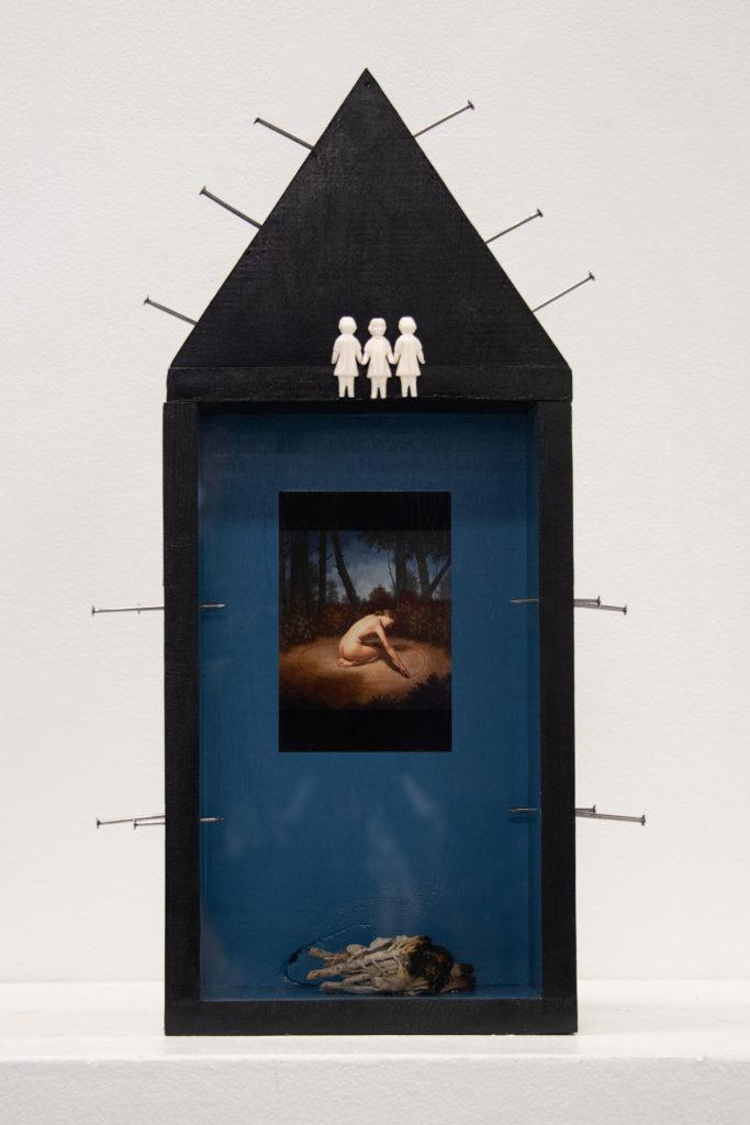 Boundaries - Kristine Rees, mixed media