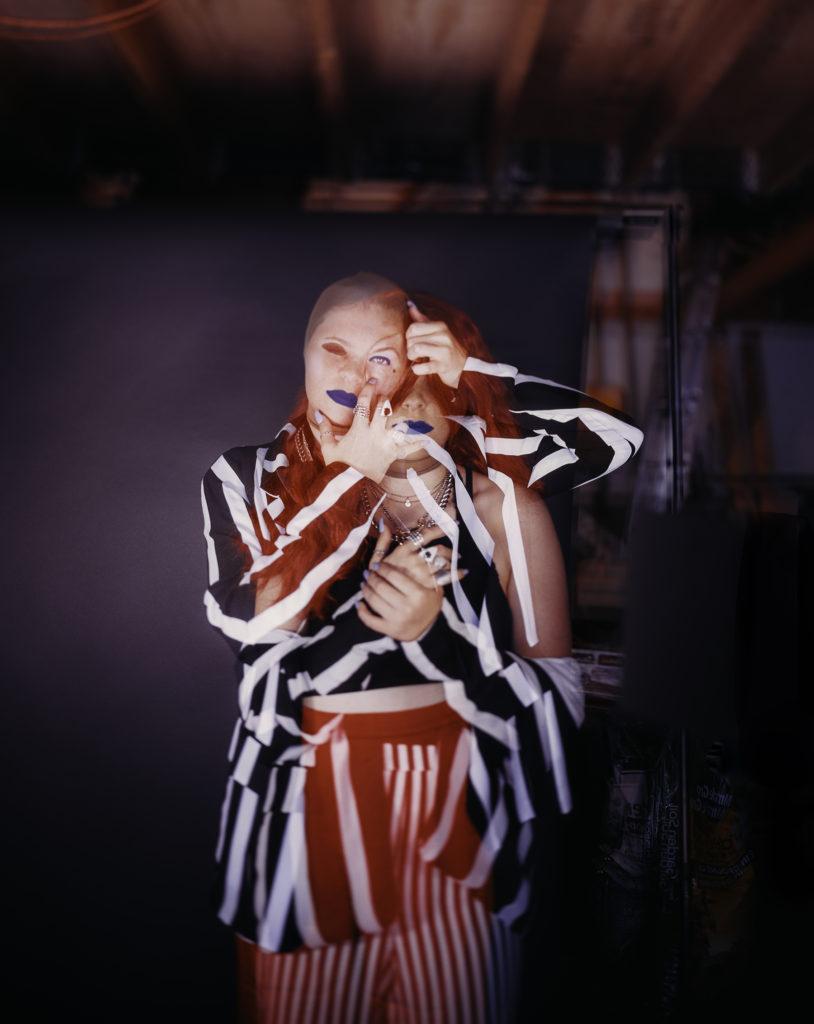 Blurring the Lines - Natalie Hopes, 4 x 5 film camera