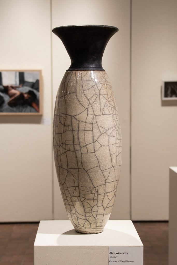 Delilah, Abby Wiscombe, wheel thrown ceramic