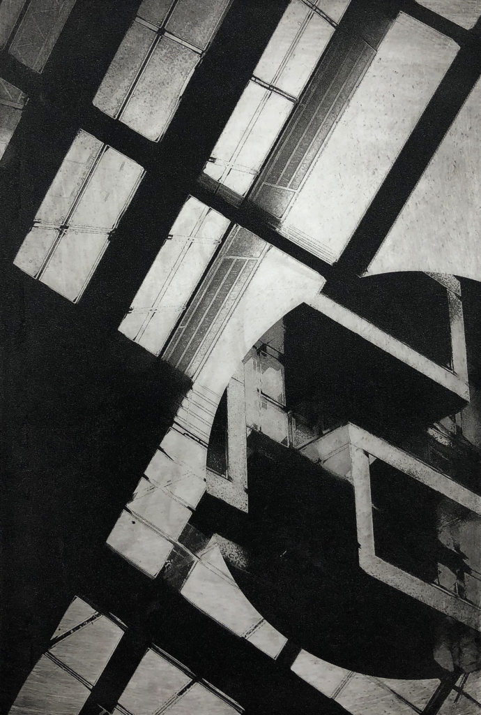 Arch-Configuration - Noelle Olsen, photopolymer plate