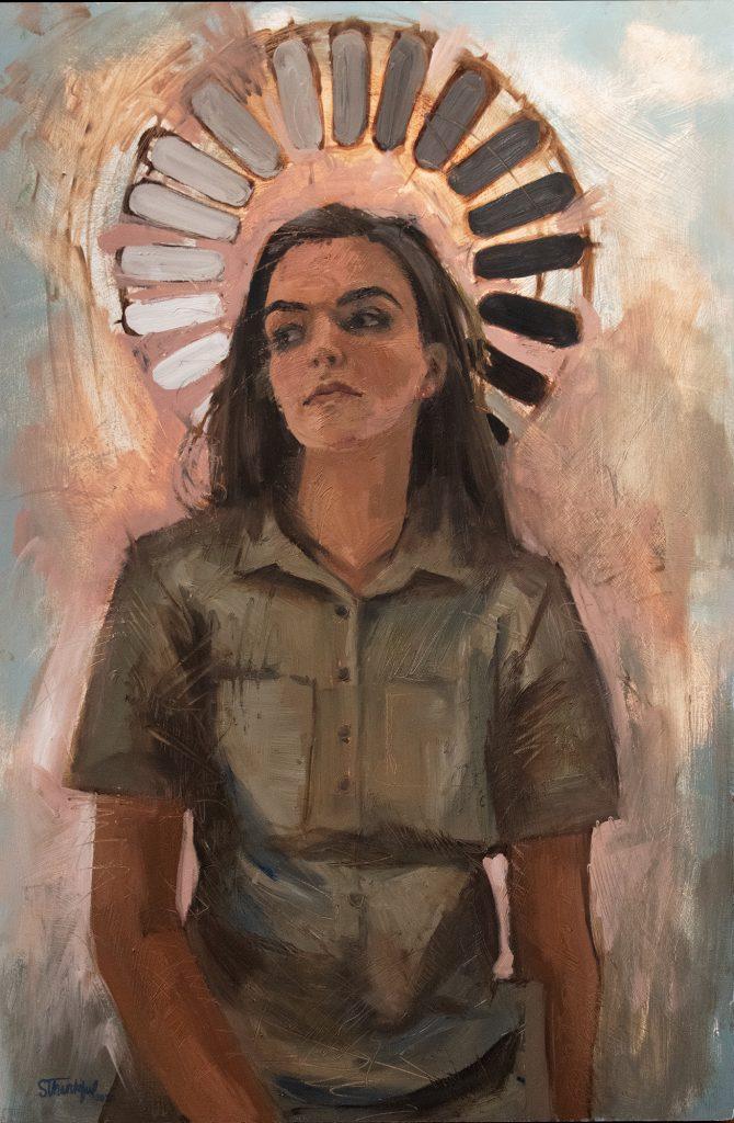 Progress, Susannah Minson, oil