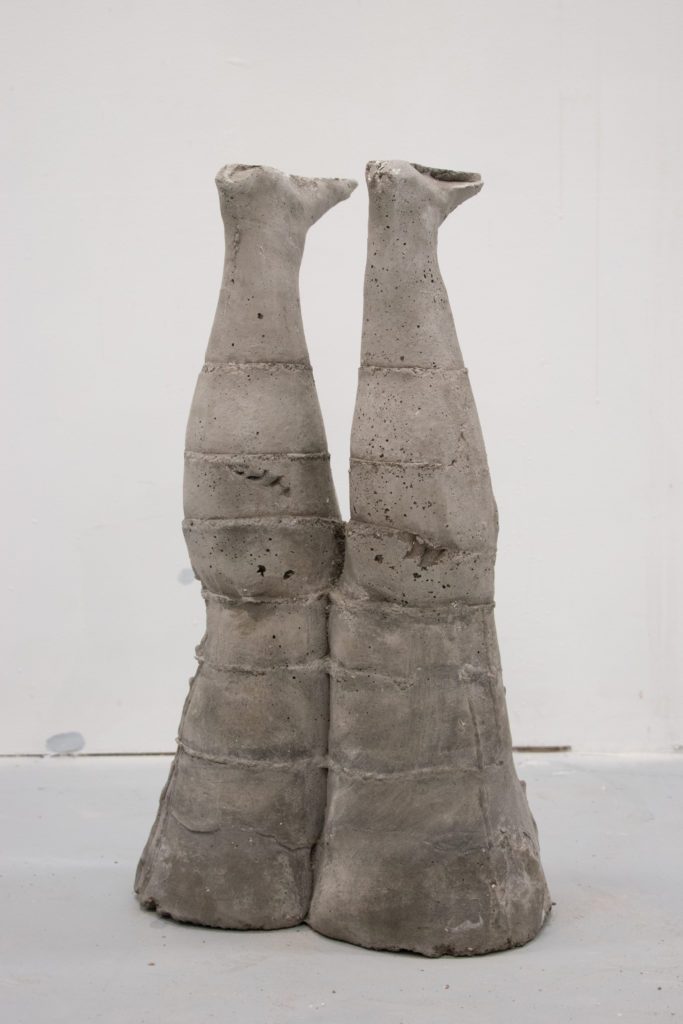 Abused - Cyan Larson, concrete and steel