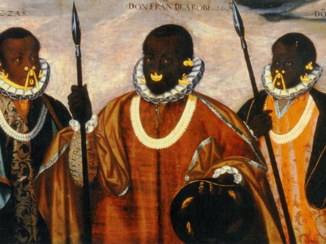 Don Francisco de la Robe and His Sons Pedro and Domingo