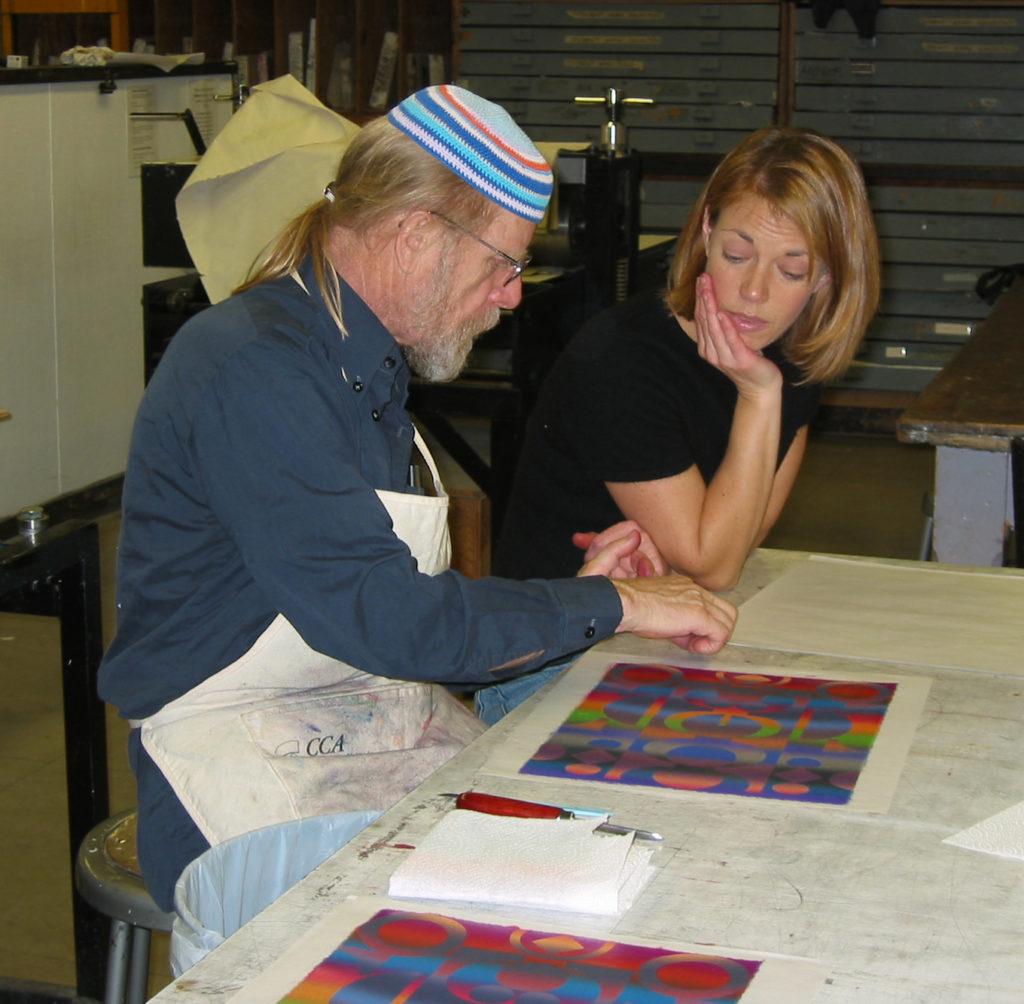 Printmaking workshop with Juergen Strunck