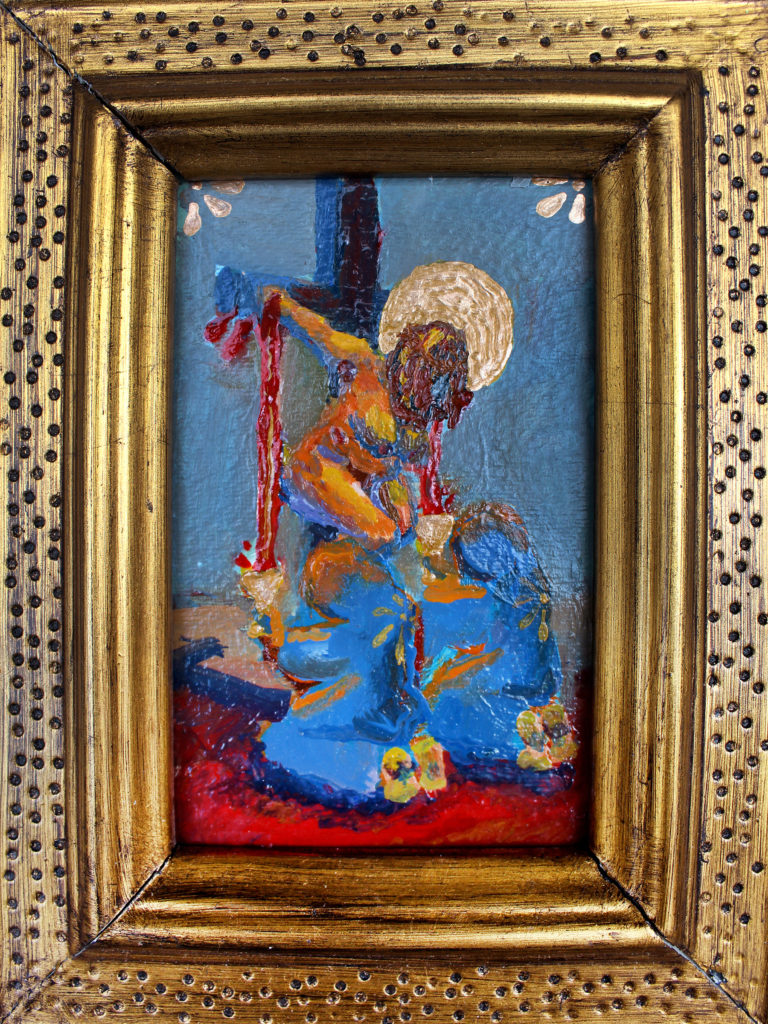 The Surrogate - Sydney Porter Williams, oil on canvas