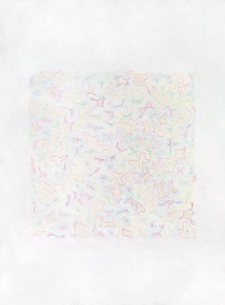transfer - Nalissa Hansen, colored pencil on paper
