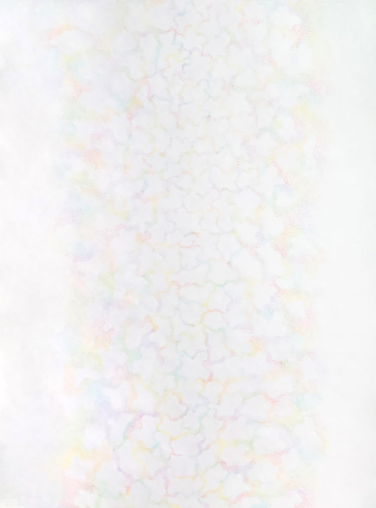 drift - Nalissa Hansen, colored pencil on paper