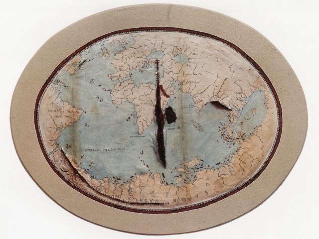 2-Mapa de Lopo Homem (Map of Lopo Homem); Adriana Varejão