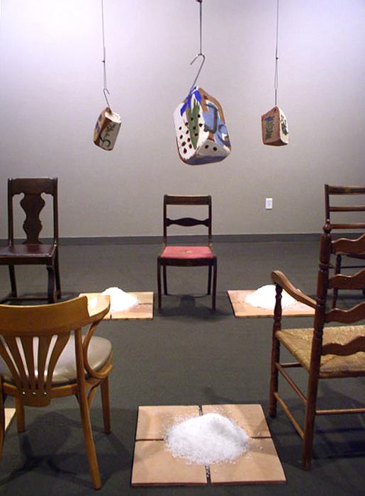 """""""Curing"""" installation sitting view; 2006"""