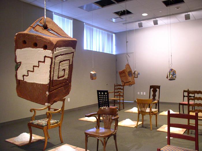 """Curing"" installation (detail); 2006"