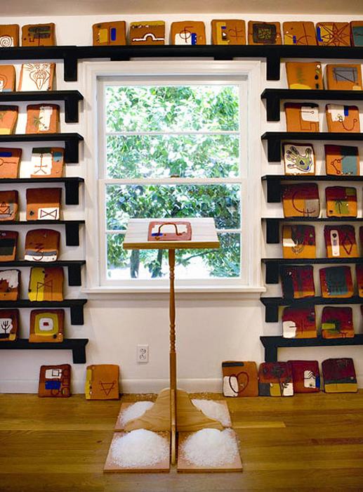 """""""Present"""" installation detail; 2007"""
