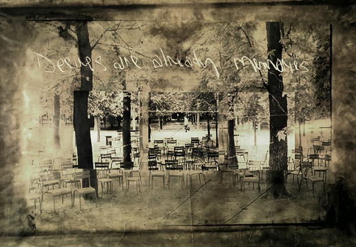 Desires Are Already Memories; Joe Marotta, 1997, silver print, 40 x 60