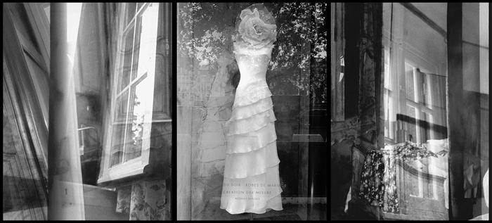 Paris - Antibe; Joe Marotta, 2002, digital print, 5 x 15