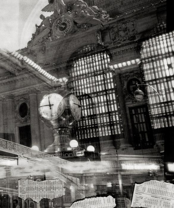 Station; Joe Marotta, 2000, silver print, 24 x 30