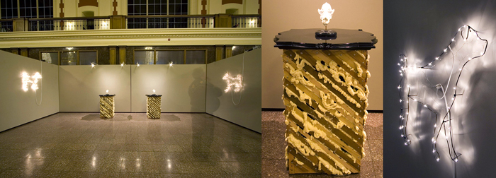 Year of the Dog; Paul Stout, 2006, mixed media installation, dimensions variable