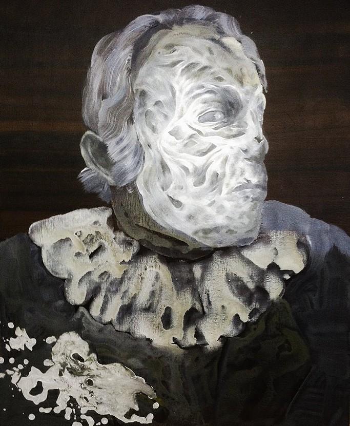 """Acrylic on Canvas, 20 x 24"""", 2013"""