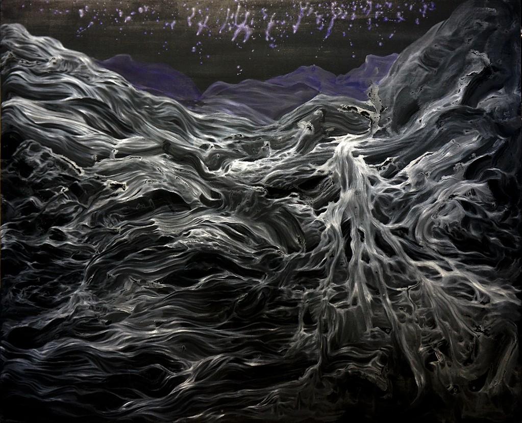 """Acrylic on Canvas, 60 x 72"""", 2014"""