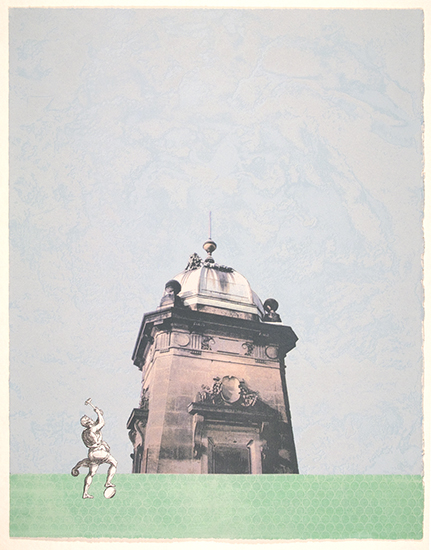 Tower Building. Screenprint. 2005.