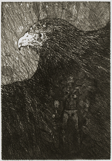 Bodily Scanning. Etching. 2008.