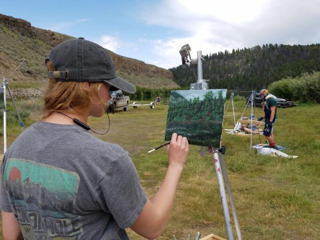 Taft Nicholson class in Montana, 2019