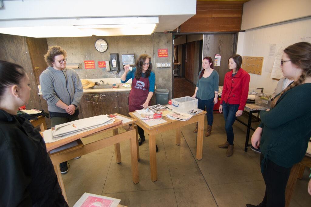 Art Teaching class with Sandy Brunvand