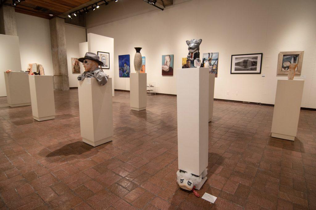 2021 Juried Student Exhibition, Gittins Gallery