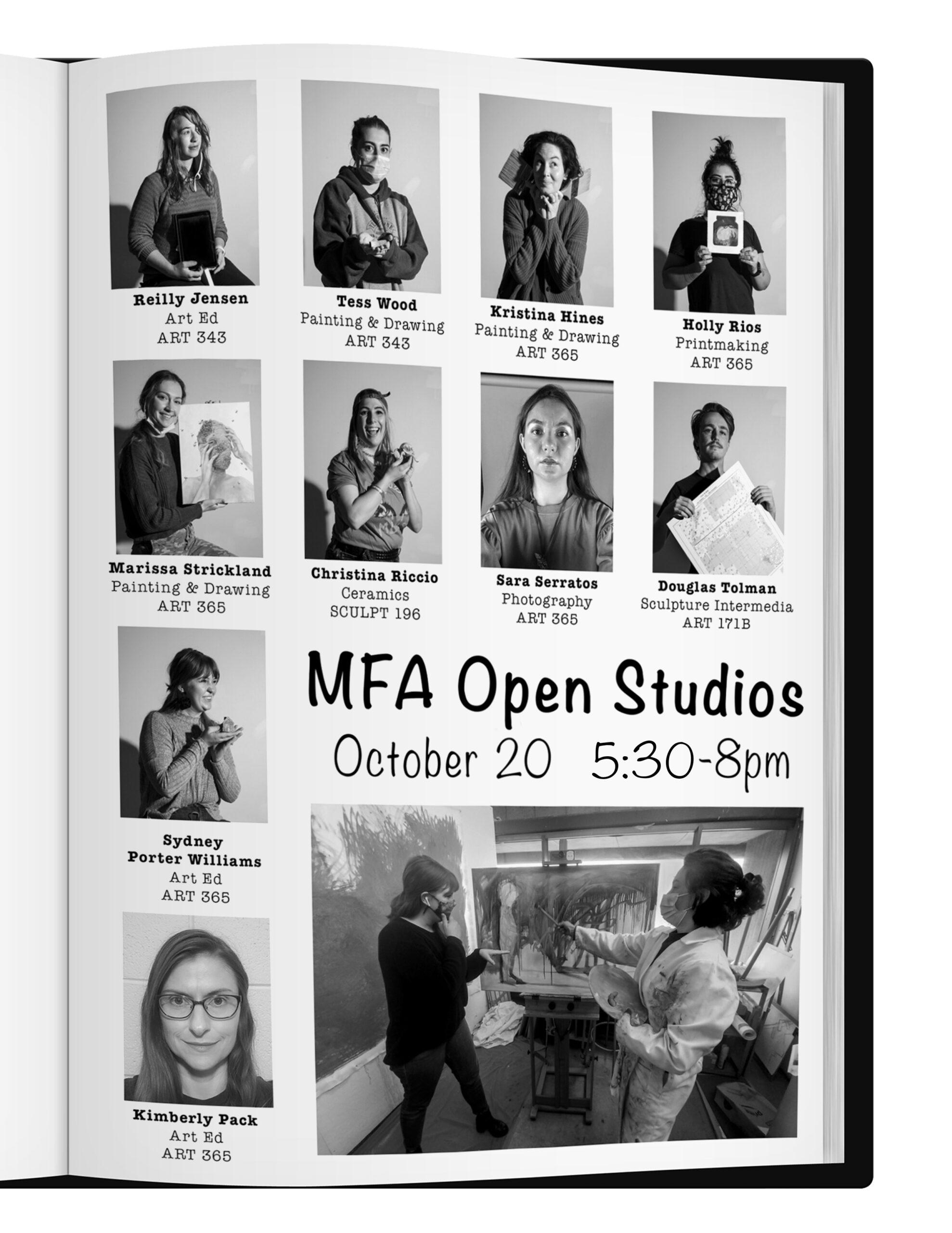 2021 MFA Open Studios