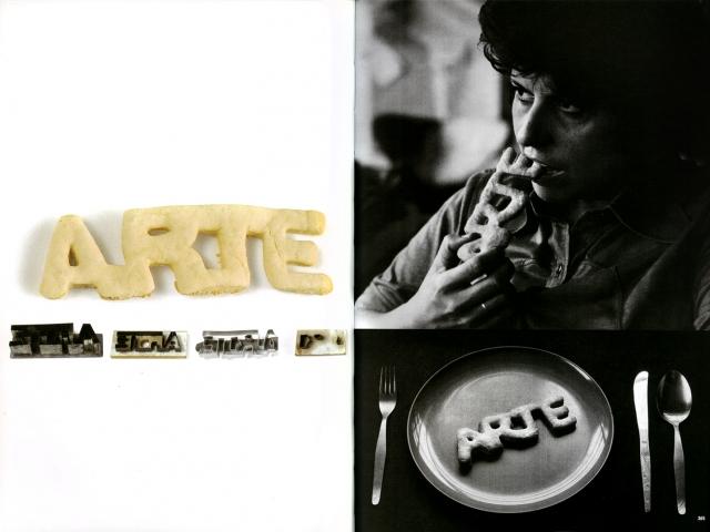 Art Cookie; Regina Silveira, 1976 CE, metal and cake dough, 2 x 15 x 6cm / photographs