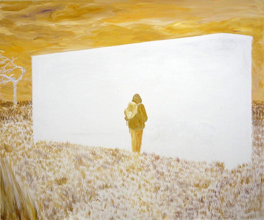 """Unleash, Acrylic on Canvas, 60 x 72"""", 2016"""