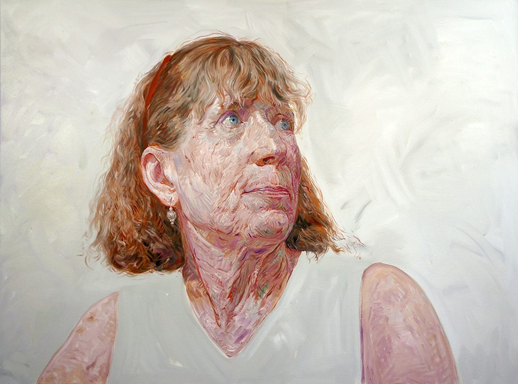 Maureen, Oil on Canvas, 36 x 48 inches, 2017