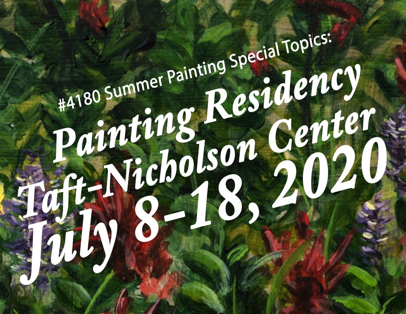 Taft Nicholson Painting Residency