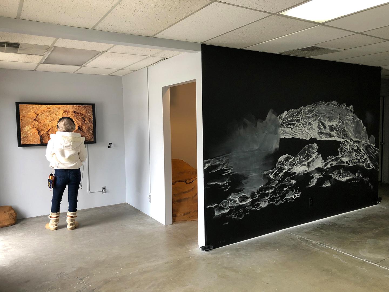 Displacing Vibrations, installation view