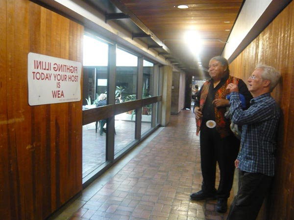 Ground Floor welcomes visiting artist, Hock E Aye Vi Edgar Heap of Birds