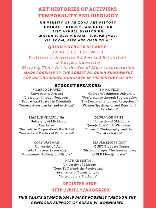 AHGSA Symposium Flier