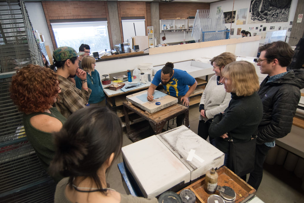 Workshop with Aaron Coleman