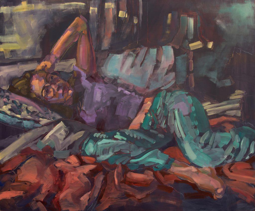 Figure Painting, Annie Platt