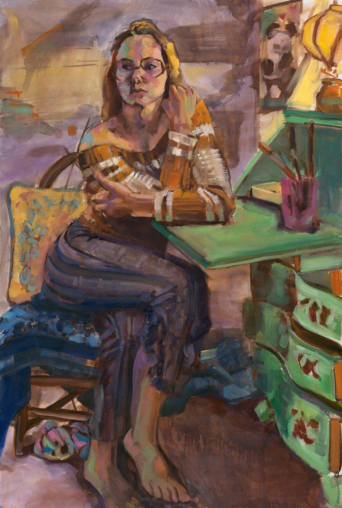 Figure Painting, Fall 2017: artwork by Annie Platt
