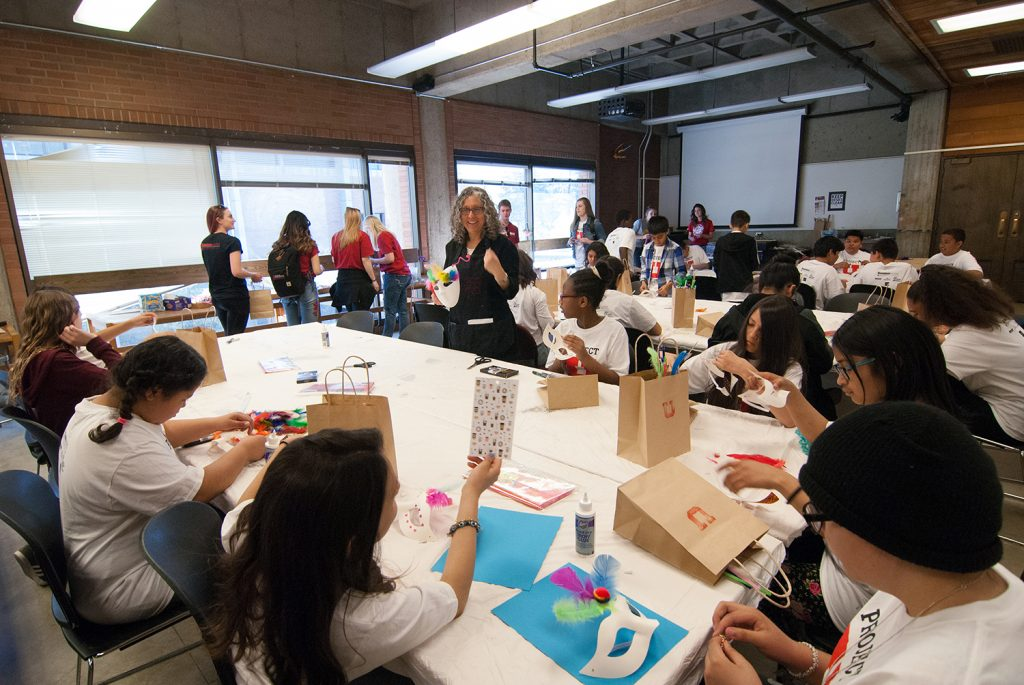 Project Youth visits Art Teaching, Spring 2018