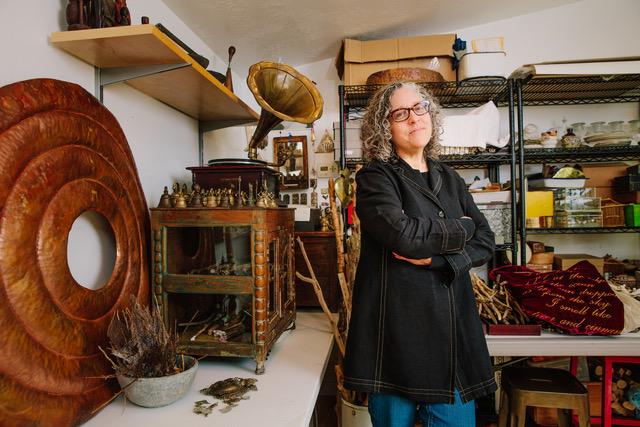 Image of Beth Krensky standing in her studio