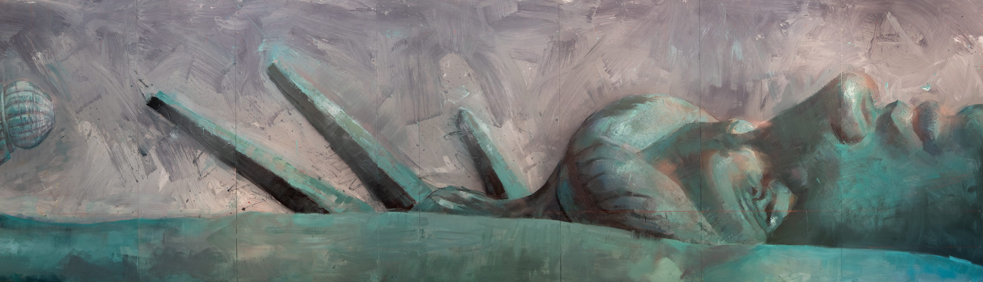 """""""The Remains of a Dream"""" detail"""