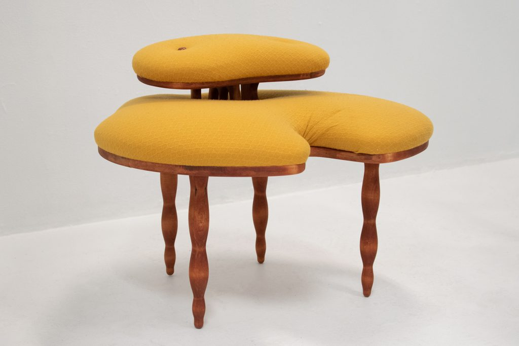 Chair, Laurie Larson, 2019, Wood, Upholstery