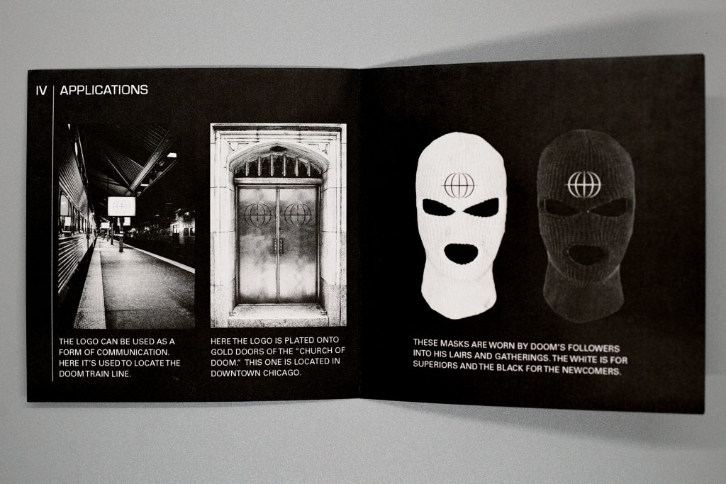 MF Doom Rebrand, Jesse Smith, 2020, Identity