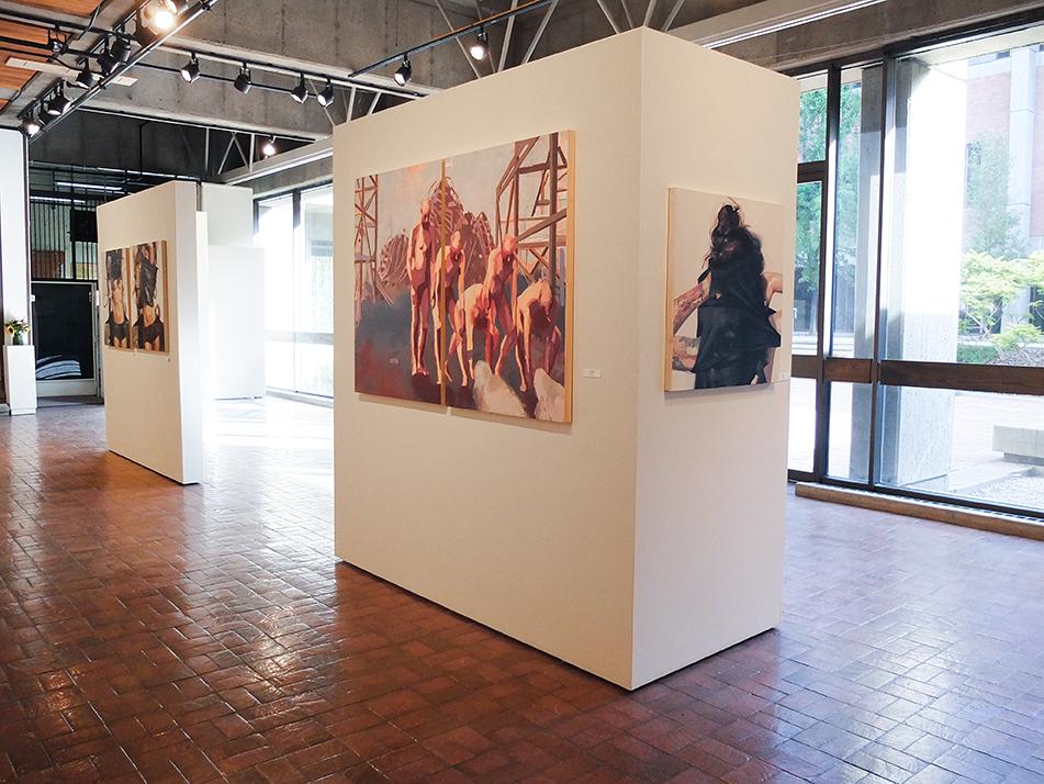 Howard Clark Scholarship Exhibition: Lindsay Frei and Jared Walker, October 2015