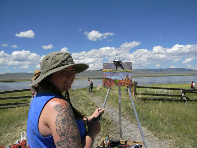Taft Nicholson Painting Residency 2018